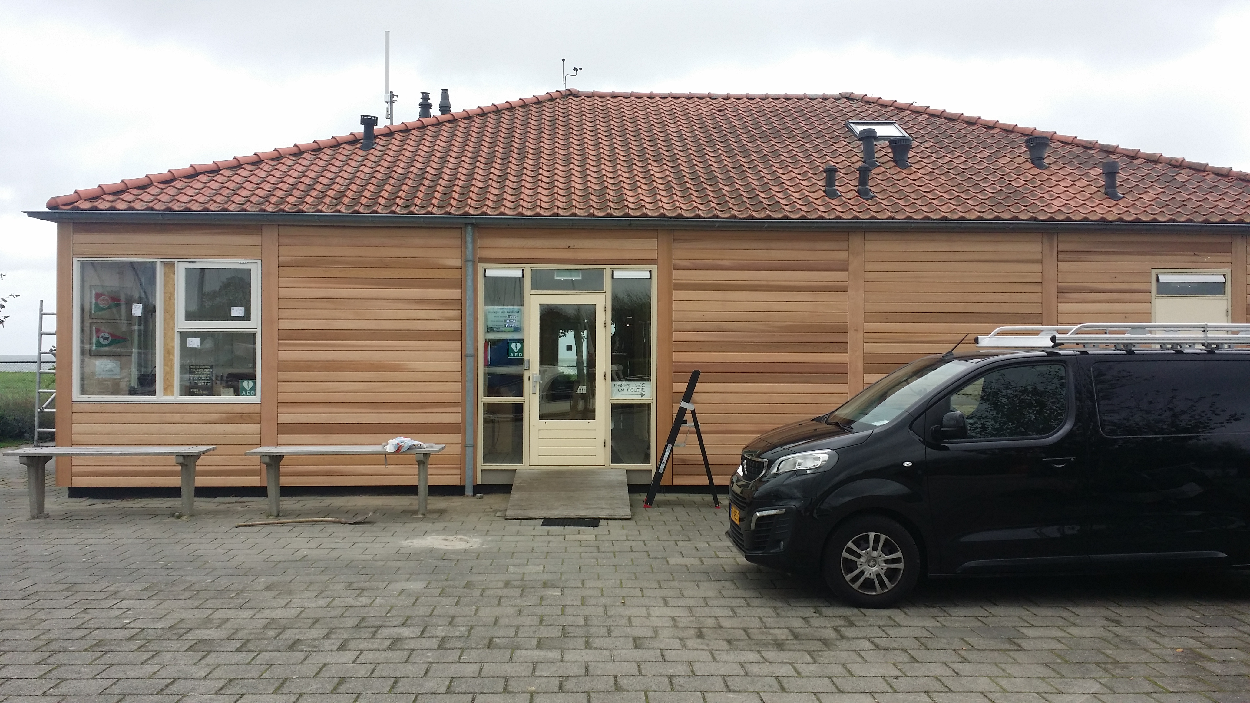 clubgebouw WSV Zeevang Edam